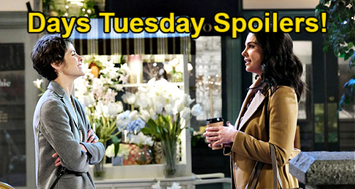 Days of Our Lives Spoilers: Tuesday, March 2 – Chloe Tries to Stop Xander & Sarah's Wedding – Gwen's Scary Tight Spot