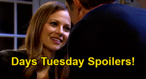 Days of Our Lives Spoilers: Tuesday, May 4 – Nicole Spills a Secret – Chloe's Infuriating Birthday Gift – Rafe & Ava Dinner Date