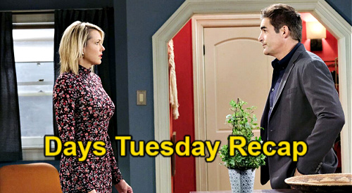 Days of Our Lives Spoilers: Tuesday, May 4 Recap – Rafe Shuts Nicole Out of Love Life - Jack & Chad Comfort Gwen, Abigail Alone