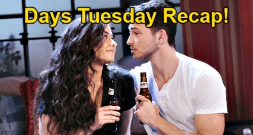 Days of Our Lives Spoilers: Tuesday, October 12 Recap – Ciara Already Pregnant After First Try – EJ Steals John Role from Chad