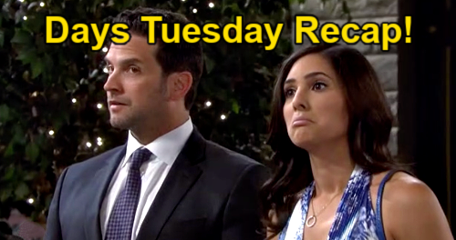 Days of Our Lives Spoilers: Tuesday, September 14 Recap – Philip Busts Gabi & Jake Conspiring with Brady