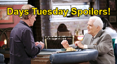 Days of Our Lives Spoilers: Tuesday, September 7 – Xander Goes After Bonnie – Roman Finds Confused Doug - Calista Fatally Shot