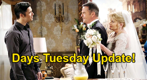Days of Our Lives Spoilers: Tuesday, September 7 Update – Bonnie's Dead Body Dilemma, Wedding to Justin Begins
