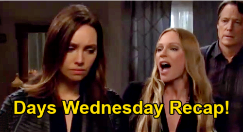 Days of Our Lives Spoilers: Wednesday, April 14 Recap – Ciara Blames Ben For Eve's Wedding Bomb – Daddy Chad Gets a Shock