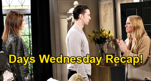 Days of Our Lives Spoilers: Wednesday, April 21 Recap – Ben Says Sorry Ciara – Xander Math Whiz - Gwen Weeps, Abigail Rages