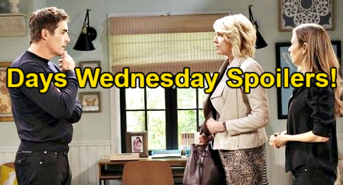 Days of Our Lives Spoilers: Wednesday, April 28 – Ben's Final Ciara Gift – Sami Tackles Lucas' Cancer – Jealous Nicole Unleashed