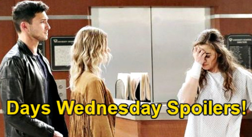 Days of Our Lives Spoilers: Wednesday, April 7 – Ciara Explodes at Claire – Gwen's Apology Stuns Chad – Abigail's Tough Decision