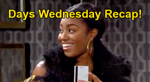 Days of Our Lives Spoilers: Wednesday, April 7 Recap – Xander Gifts Full Wallet to Chanel – Ben Heartbroken, Ciara Leans on Theo