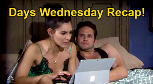 Days of Our Lives Spoilers: Wednesday, August 25 Recap – Gabi Finds Confidential Email – Jake's Tricky Interview