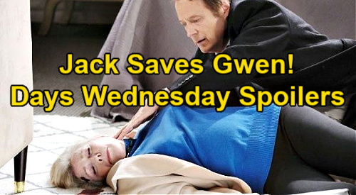 Days of Our Lives Spoilers: Wednesday, February 10 – Jack's Laura Cover Story Saves Gwen from Prison – Eli & Lani Get Twins Back