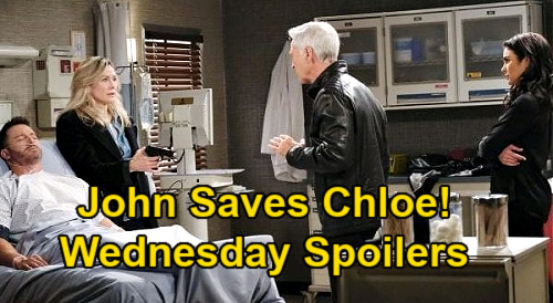Days of Our Lives Spoilers: Wednesday, January 27 – John Saves Chloe from Kristen – Victor's Rage Erupts – Anna Faces Gwen Bomb