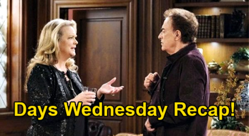 Days of Our Lives Spoilers: Wednesday, January 27 Recap - Abigail Considers Forgiving Chad - Marlena Talks Kristen Down
