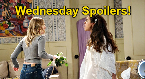 Days of Our Lives Spoilers: Wednesday, July 21 – Ciara & Claire's Faceoff – Theo Refuses Wedding Delay – Paulina's News