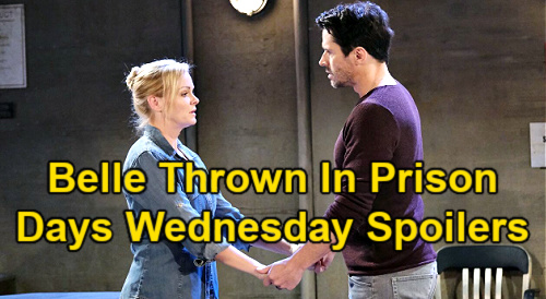 Days of Our Lives Spoilers: Wednesday, June 2 – Ben Needs Clyde's Advice – Belle Thrown in Prison – Paulina Returns with Big Secret