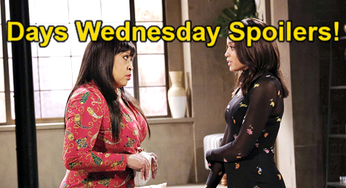 Days of Our Lives Spoilers: Wednesday, June 23 – Chanel & Allie's Urgent Mission – Xander & Gwen's Corpse Disposal