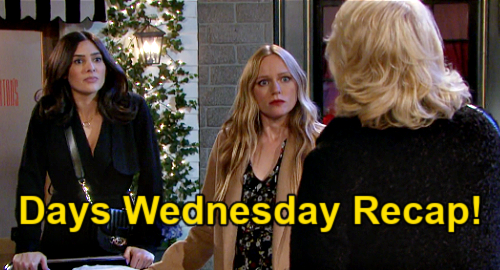 Days of Our Lives Spoilers: Wednesday, March 3 Recap - Xander's Kilt - Bonnie Interrupts Kidnapping - Chad Explodes On Jack