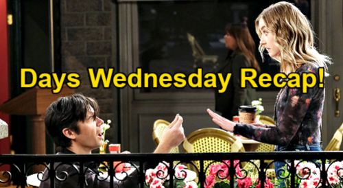 Days of Our Lives Spoilers: Wednesday, May 5 Recap – Xander's New Marriage Proposal, Claire's Mistake – Chanel's Job Offer
