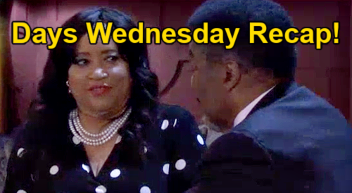 Days of Our Lives Spoilers: Wednesday, October 13 Recap – Ben & Ciara Get Rosemary's Baby – Paulina & Abe Wedding Date