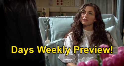 Days of Our Lives Spoilers: Week of April 19 Preview – Xander Demands Paulina's $10 Million – Ciara Tells Ben Leaving Town with Theo