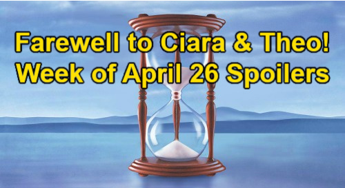 Days of Our Lives Spoilers: Week of April 26 – Jake's Breakup - Ciara & Theo Farewell – Ava & Rafe Kiss – Belle Accuses Sami