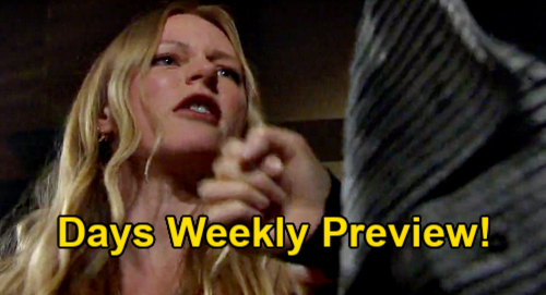 Days of Our Lives Spoilers: Week of April 26 Preview – Abigail's Attack Sends Gwen Falling Down Stairs – Gabi & Philip Go To Far