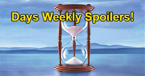 Days of Our Lives Spoilers: Week of August 23 – Ben & Ciara Wedding Redo – Allie Rejects Tripp's Love – Nicole's Sacrifice