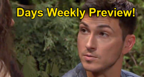 Days of Our Lives Spoilers: Week of August 30 Preview – Ciara Out of Birth Control Pills – Chloe & Brady Cozy in Bed