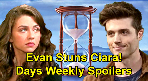 Days of Our Lives Spoilers: Week of February 15 – Evan Shocks Ciara – Clyde's Clue for Ben – Xander Proposes to Sarah