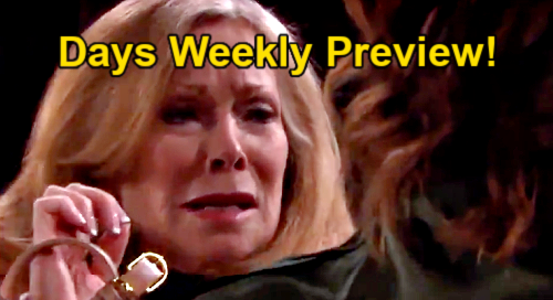 Days of Our Lives Spoilers: Week of February 8 Preview - Gwen & Laura's Encounter Ends In Tragedy - Vivian Armed & Dangerous