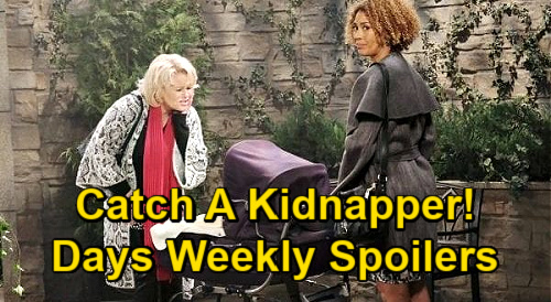 Days of Our Lives Spoilers: Week of January 11 – Gwen's Secrets Unravel - Kidnapper Dr. Raynor – Chad & Abby's Marriage Breaks