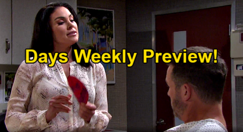 Days of Our Lives Spoilers: Week of January 15 Preview - Brady Is Chloe's Valentine - Xander Proposes - Shawn & Ben Gunshot
