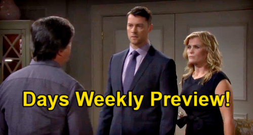 Days of Our Lives Spoilers: Week of June 14 Preview – EJ & Sami's Passion Erupts – Tony & Chad Welcome Scheming Brother Home