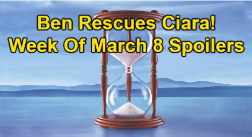 Days of Our Lives Spoilers: Week of March 8 – Ben Rescues Ciara – Ava & Henry Bond – Sarah in Danger – Rex & Theo Return