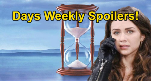 Days of Our Lives Spoilers: Week of May 17 – Ben's Horrible Ciara News, Claire's Comfort – Abigail Says Goodbye Chad