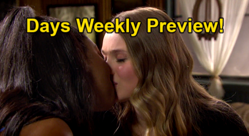 Days of Our Lives Spoilers: Week of May 3 Preview – Allie Kisses Chanel, Stuns Tripp – Nicole Tries To Steal Rafe From Ava