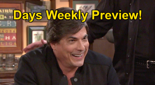 Days of Our Lives Spoilers: Week of September 13 Preview – Sami's Wild Life Movie – Lucas True Love – Marlena & John's Affair