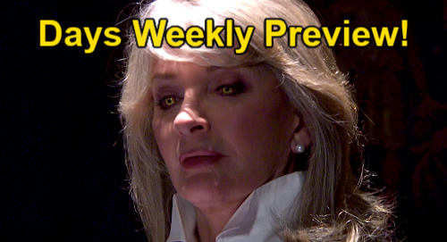 Days of Our Lives Spoilers: Week of September 20 Preview – Evil Inhabits Marlena – Philip's Gift – Johnny's Secret Weapon