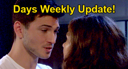 Days of Our Lives Spoilers: Week of September 20 Update – Doug Goes Haywire – Ben Confesses to Ciara – Abigail Stuns Gwen