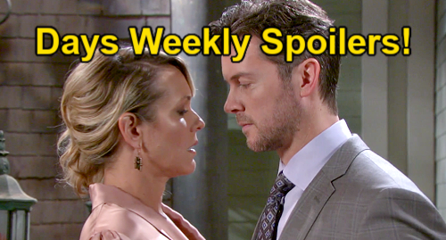 Days of Our Lives Spoilers: Week of September 27 – EJ & Nicole's Date – Marlena's Wild Nightmare – Movie Star Abigail