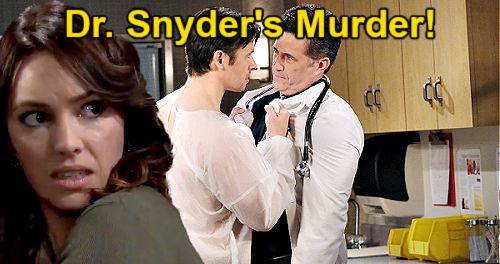 Days of Our Lives Spoilers: Xander Arrested for Dr. Snyder's Murder – Drug Drama Goes Wrong, Keeps Gwen Out of Trouble?
