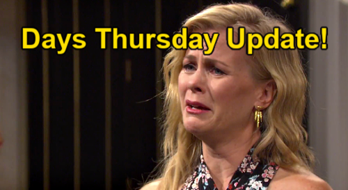 Days of Our Lives Update: Thursday, July 22 – EJ Rages Over Sami's Betrayal – Lucas' Passionate Plea – Theo's Alter Shocker