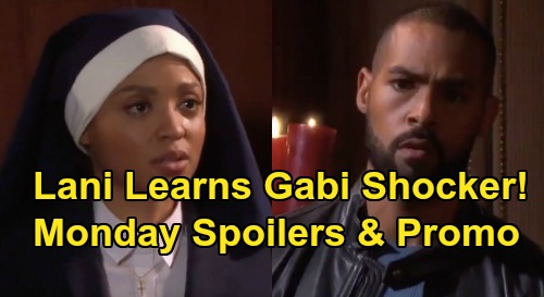 Days of Our Lives Spoilers: Monday, December 9 – Eli Throws Gabi Romance in Lani's Face – JJ's Rage – Chad's Stefano Confession