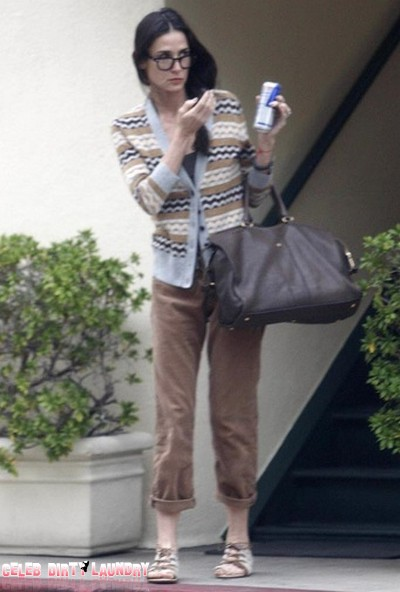 Demi Moore Has Lost Even More Weight - She Looks Skeletal (Photos)