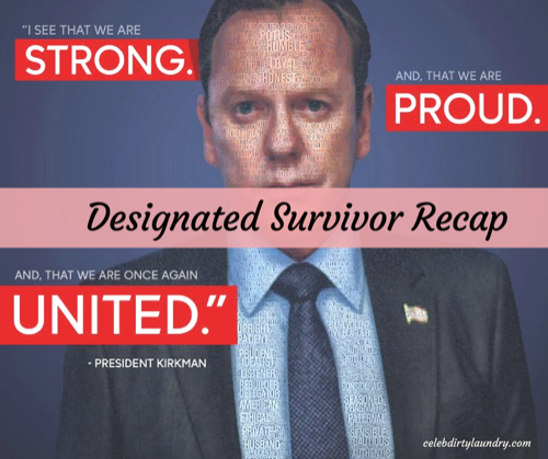 "Designated Survivor Spring Premiere Recap 3/8/17: Season 1 Episode 11 ""Warriors"""