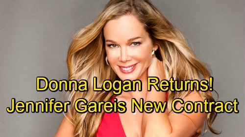 The Bold and the Beautiful Spoilers: Jennifer Gareis Back On Contract at B&B - Donna Logan Returns