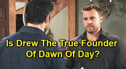 General Hospital Spoilers: Is Drew Cain The Founder of Dawn of Day - Memory Recovery Leads To Shocker?