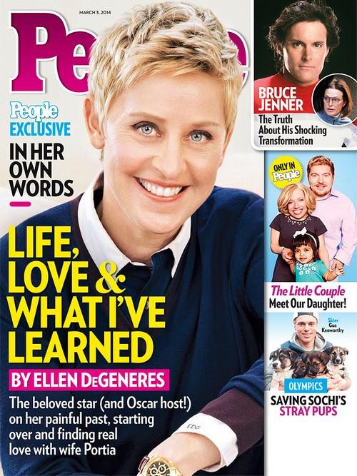 Ellen DeGeneres Admits Trouble With Portia de Rossi Relationship - Tries To Shut Down Break Up Rumors (PHOTO)