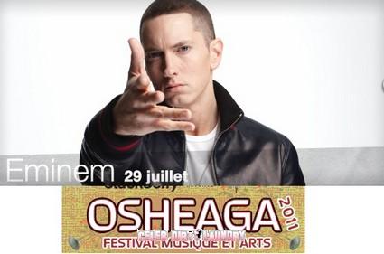 Eminem Headlines At Montreal's Osheaga Rock Festival