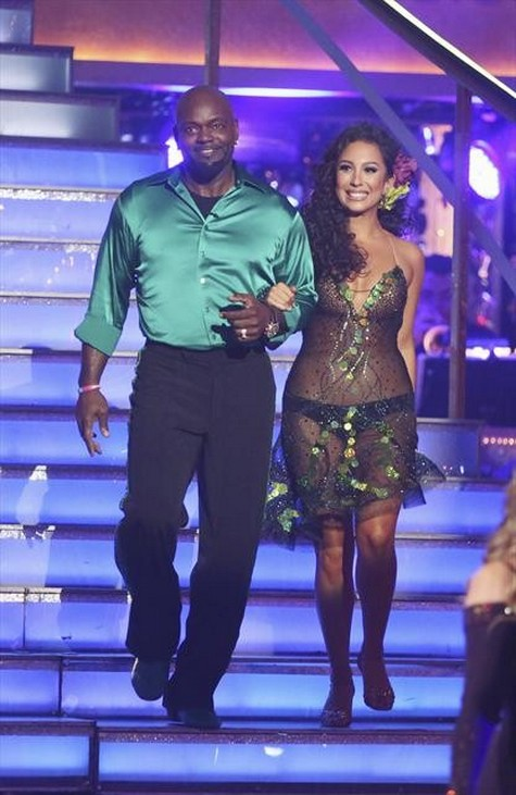 Emmitt Smith Dancing With the Stars All-Stars Quickstep Performance Video 10/01/12