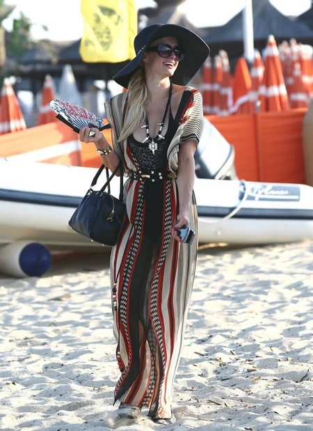 Paris Hilton 'Simply Stunning' At The Beach In St. Tropez! (Photos)